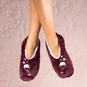 Shoes - Wine Lovers Slippers